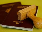 Passport for the Working Holiday Visa for Australia