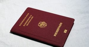 Reisepass für das Working Holiday Visum Australien