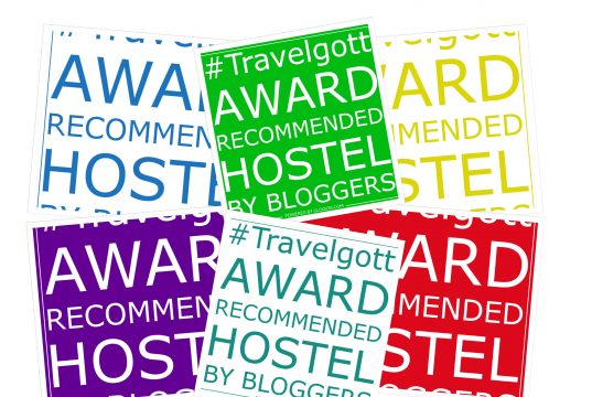 #Travelgott Hostel Award