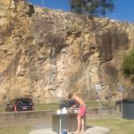 Kangaroo Point - BBQs und Klettern