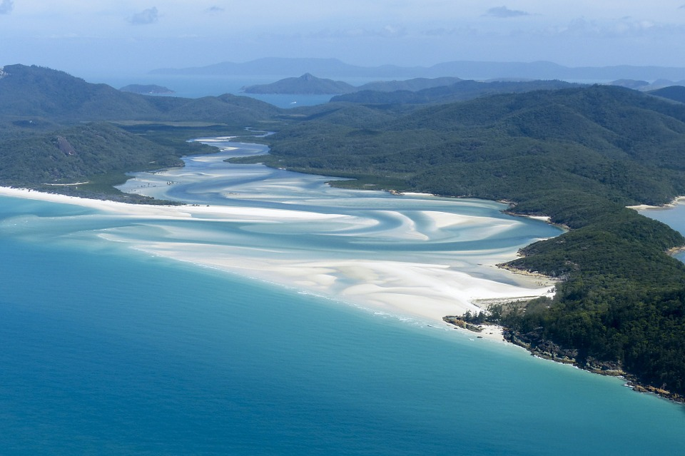 Whitsunday Islands - Vogelperspektive