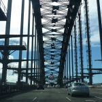 Crossing the Sydney Harbour Bridge