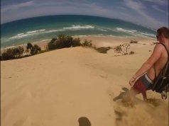Rainbow Beach - Sand Dune